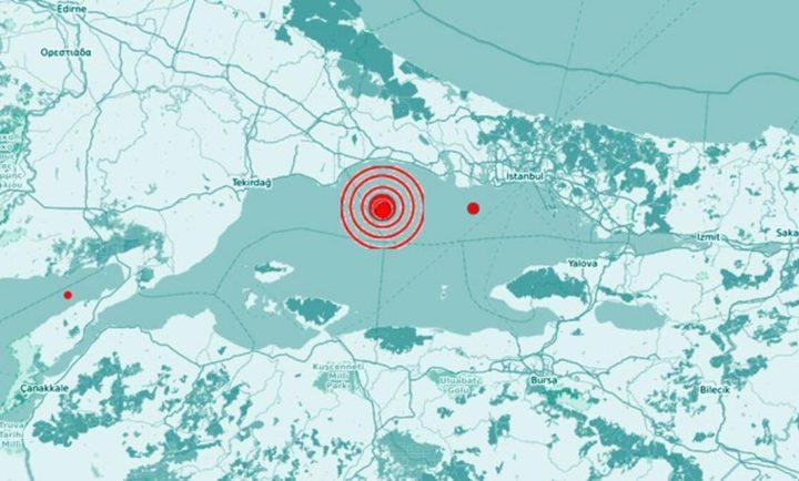 زلزال قوي يضرب اسطنبول