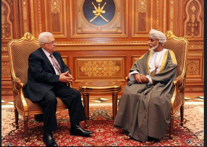 الرئيس عباس يعلن الحِداد 3 أيام على السلطان قابوس