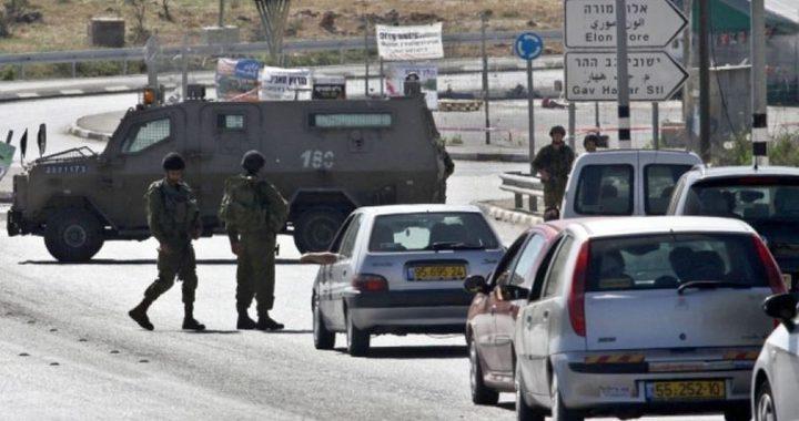 الاحتلال يحتجز عشرات المركبات قرب مفرق عناتا شرق القدس