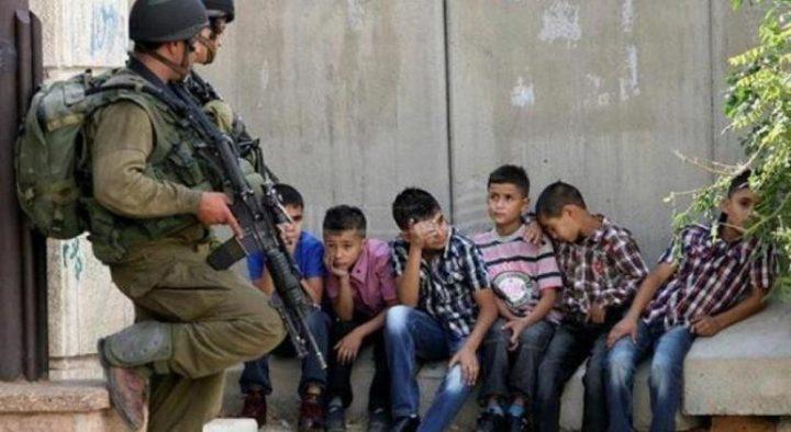 تقرير يوثق جرائم شرطة الاحتلال بحق الاطفال في العيسوية