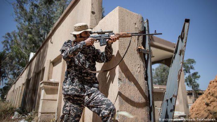 قوات شرق ليبيا تعلن وقف إطلاق النار