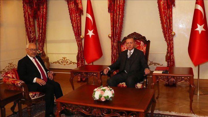 الرئيس التركي يستقبل رئيس البرلمان التونسي