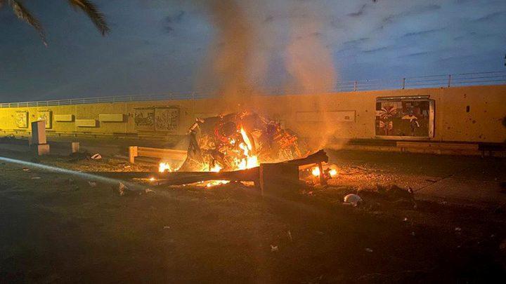"""تقارير أمريكية: """"إسرائيل""""ساعدت في عملية إغتيال سليماني"""