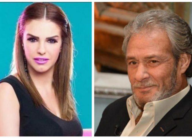 دنيا عبد العزيز تنفي شائعات زواجها من الراحل فاروق الفيشاوي