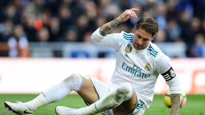 الاصابة تغييب راموس عن ريال مدريد