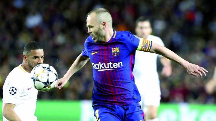 إنييستا ينتقد معاملة النادي الكتالوني مع المدرب فالفيردي