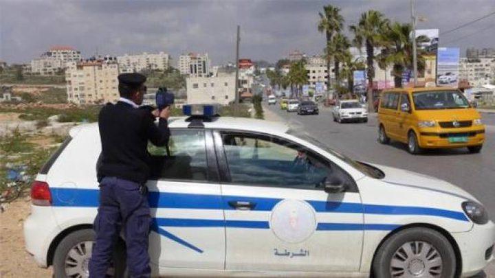 شرطة المرور تضبط (4)مركبات تزعج المواطنين بنابلس