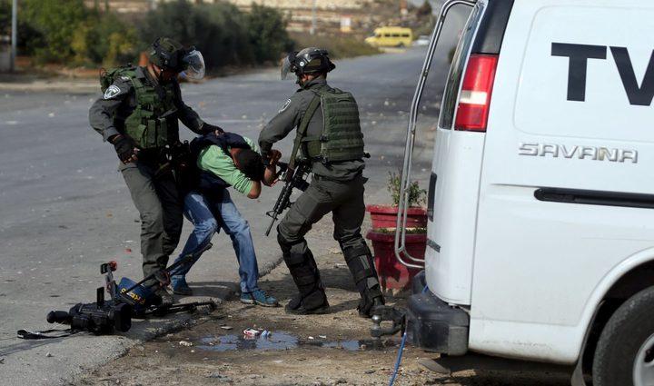 وزارةالإعلام: 463 انتهاكًا إسرائيليًا بحق الصحافيين خلال 2019