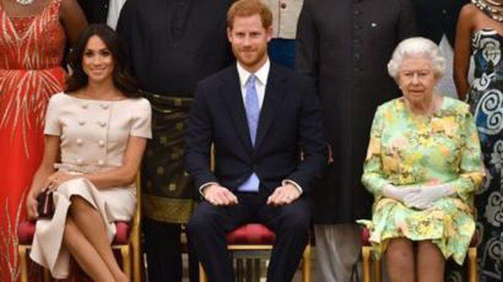 "إليزابيث تحسم قرارها بشأن ""خروج هاري وميغان"""