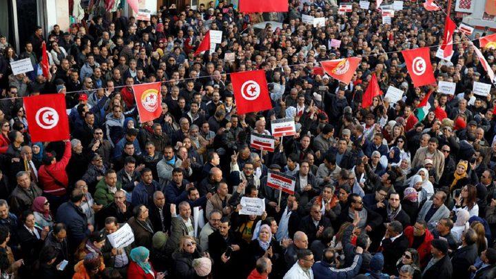 تونس تحيي بالذكرى التاسعة للثورة التونسية