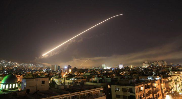 """سانا: دفاعات سورية الجوية تتصدى لعدوان يستهدف مطار الـ""""تي فور"""""""