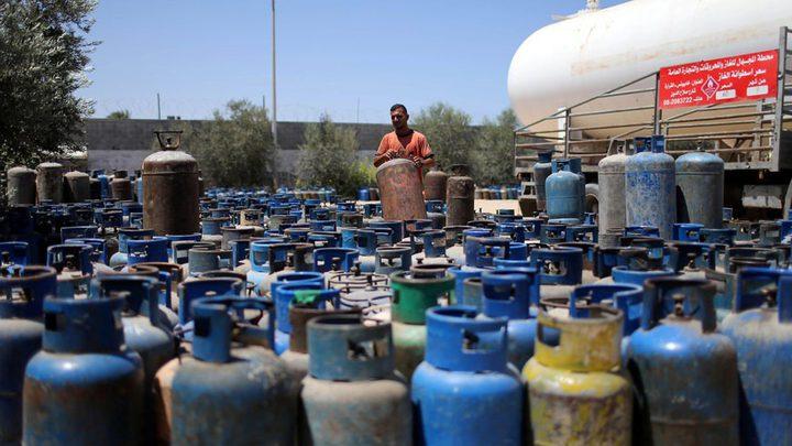 مالية حماس تعلن عن سعر اسطوانة الغاز للمستهلك