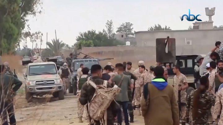حكومة الوفاق الليبية تعلن وقف إطلاق النار