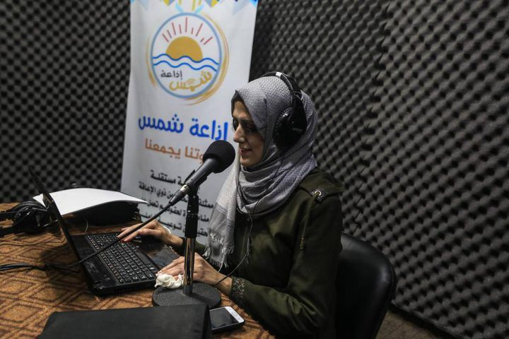 شمس .. أول إذاعة للمكفوفين في فلسطين على مستوى الوطن العربي