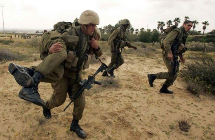 قوات الاحتلال تجري تدريبات عسكرية بالاغوار