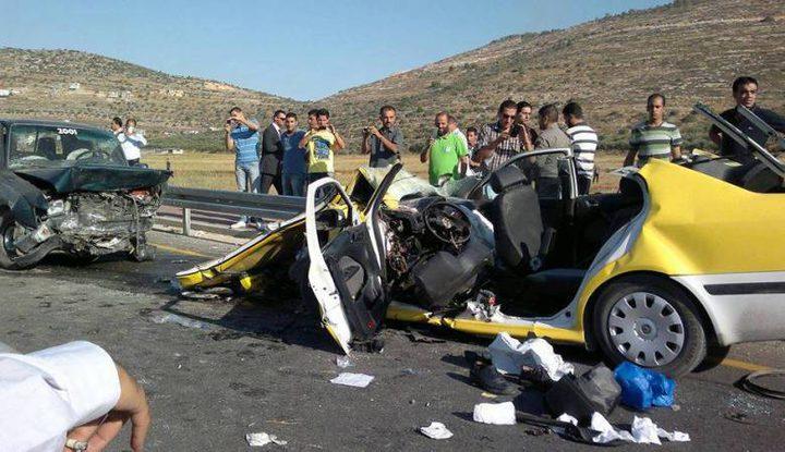مصرع 6 أشخاص وإصابة 928 آخرين بحوادث سير الشهر الماضي