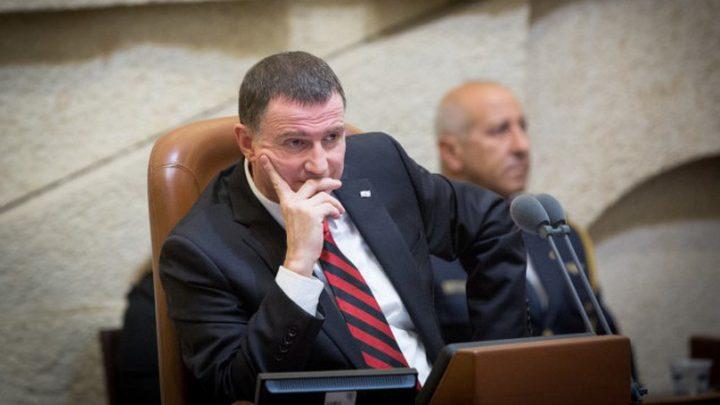 اليمين يطالب إدلشتاين بتأجيل نقاش حصول نتنياهو على الحصانة