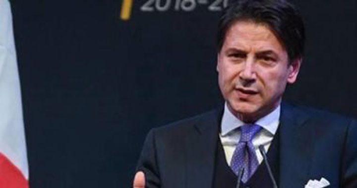وصول رئيس الوزراء الإيطالي للجزائر لبحث الأزمة الليبية