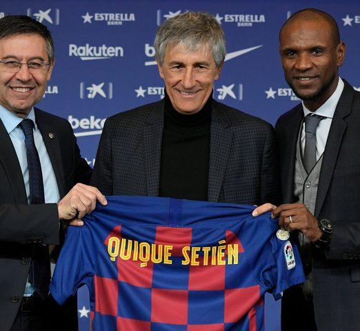 سيتين يقرر تغيير نظام فريق برشلونة