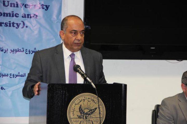 وزير العدل: الاحتلال هو المعيق الأساسي الذي يؤثر على قطاع العدالة