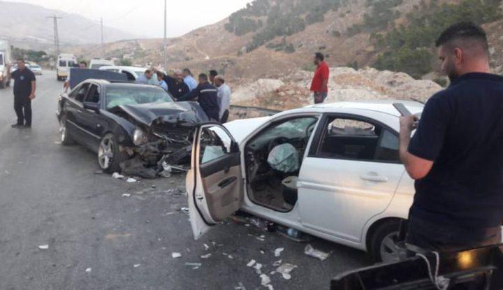 الشرطة: 179 اصابة  في 200 حادث سير الأسبوع الماضي