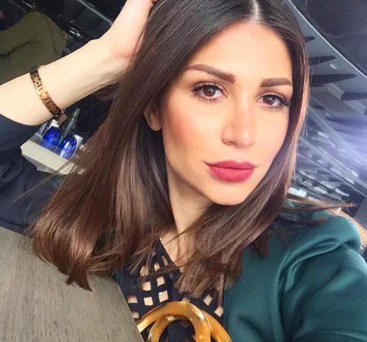 الفنانة السورية سارة نخلة تسخر من زوج نانسي عجرم