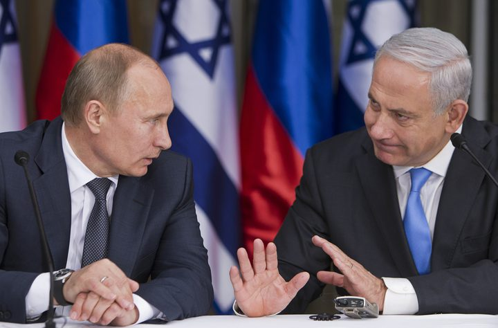 """نتنياهو يلمح إلى استعداد بوتين التوصل لحل بشأن المستوطنة """"يسسخار"""""""