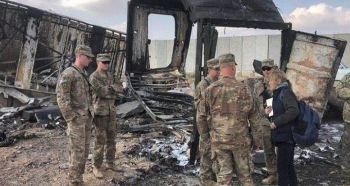 الجيش الامريكي: اصابة 11 جندياً بهجوم ايران بالثامن من يناير
