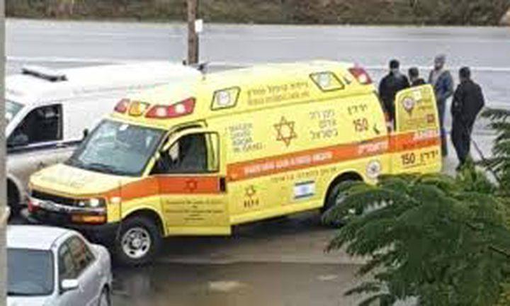 إصابة خطيرة لعامل سقط من علو في كفر قرع