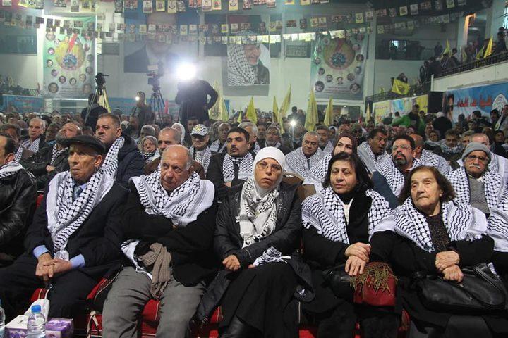 احياء ذكرى انطلاقة الثورة الفلسطينية الـ55 في العاصمة السورية