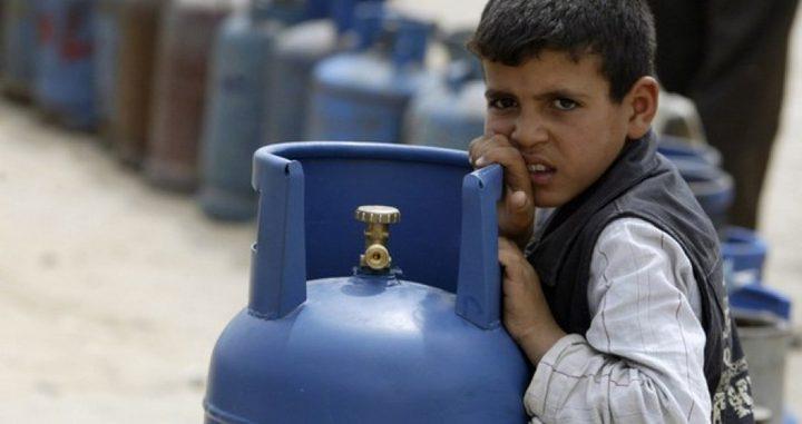 مالية غزة: تم إدخال 240 طنا من غاز الطهي المصري