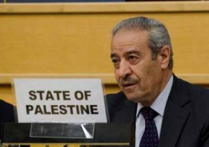 خالد: نقل هندوراس سفارتها للقدس اعتداء على حق سيادة فلسطين