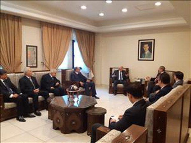 وفد من المنظمة يلتقي نائب وزير الخارجية السوري في دمشق