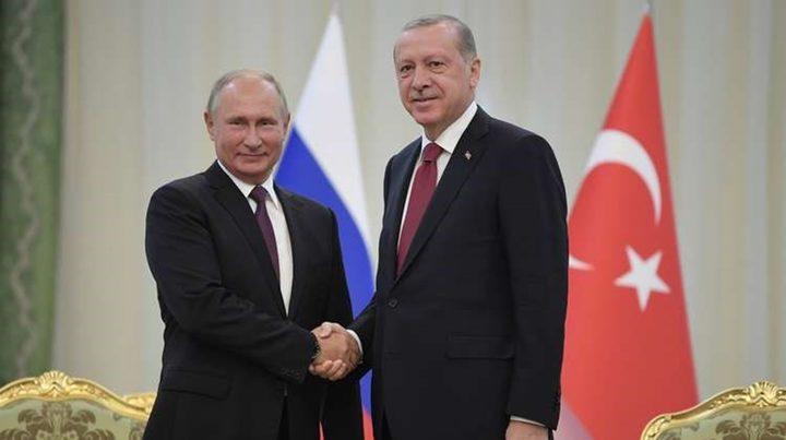 بوتين وأردوغان يعقدان اجتماعهما على هامش مؤتمر برلين حول ليبيا