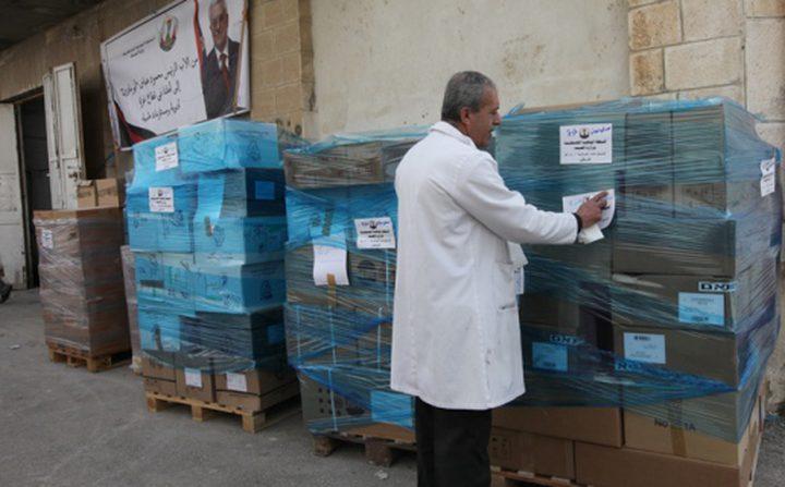 الكيلة: شحنة من أدوية السرطان والدم والثلاسيميا في طريقها إلى غزة