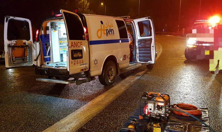 إصابات في حادث طرق قرب يركا