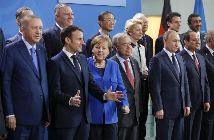 انطلاق أعمال مؤتمر برلين حول ليبيا بمشاركة زعماء 12 بلدًا