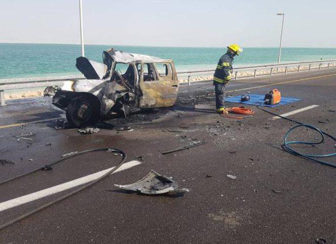 مصرع مواطن بحادث سير على طريق البحر الميت