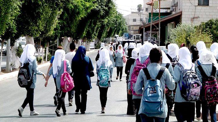 غزة: دوام طلبة المدارس والموظفين غدا الثلاثاء طبيعي
