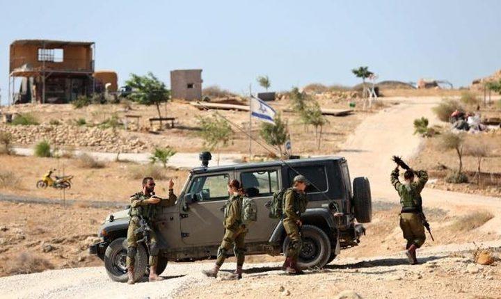بشارات: ممارسات الاحتلال بالاغوار مقدمة للضم الفعلي