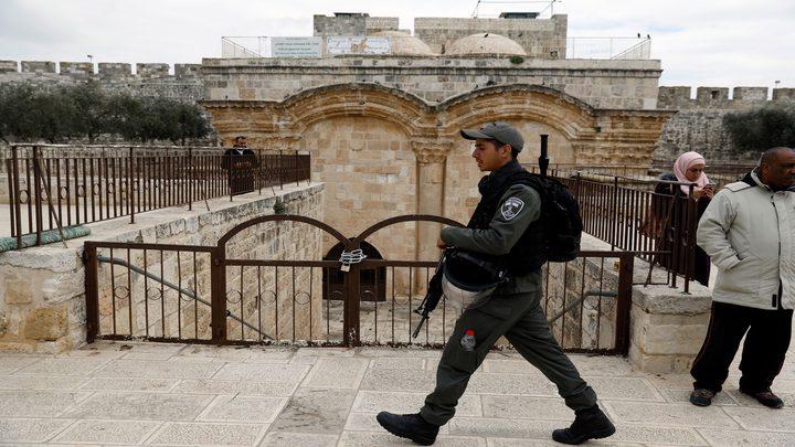 """خطيب المسجد الأقصى: الاحتلال يسعى لتحويل باب الرحمة """"لكنيس"""""""