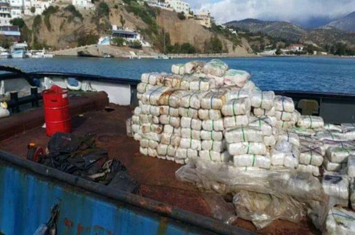 احباط محاولة تهريب شحنة مخدرات لمصر