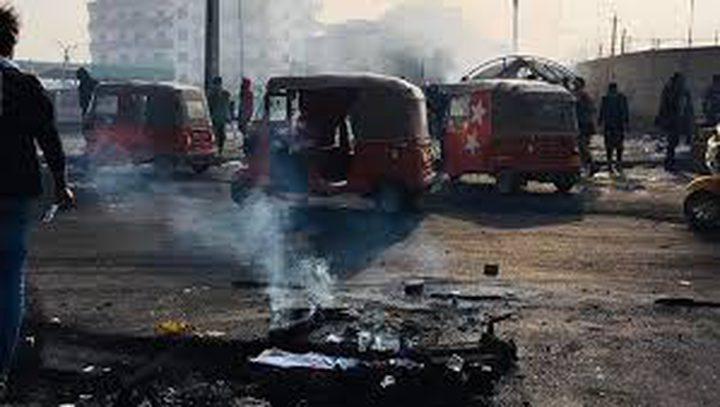 اعادة فتح طرق بغداد بعد إغلاقها من قبل محتجين