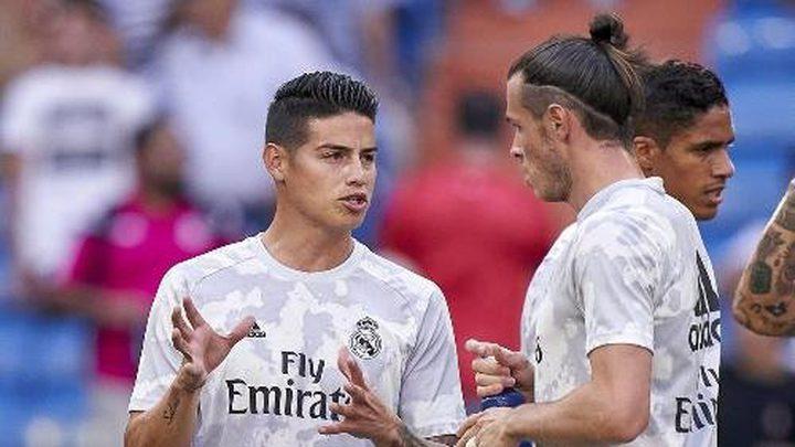 رودريغيز وبيل في قائمة مباراة الريال ضد سالامانكا بكأس إسبانيا