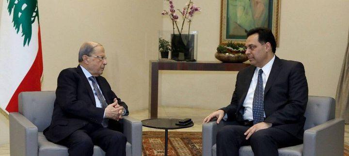 """الإعلان عن تشكيل حكومة لبنانية جديدة بـ"""" 20 حقيبة"""""""