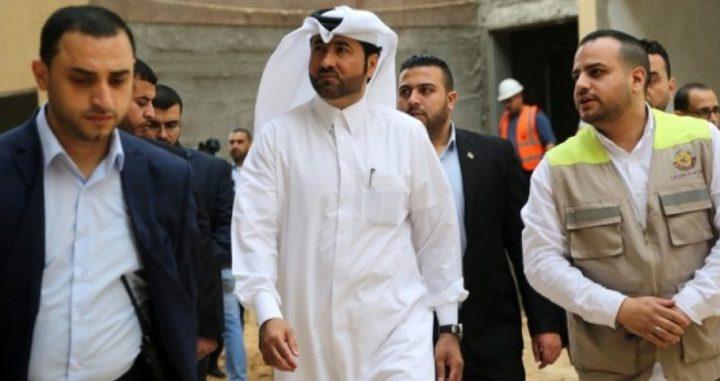 """وصول """"الحردان"""" ووفد طبي قطري إلى قطاع غزة"""