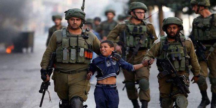 مؤسسة حقوقية: الاحتلال يرتكب جرائم حرب بحق الاسرى الاطفال