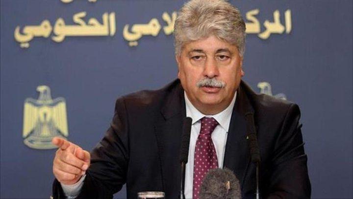 مجدلاني: أي اجراء للضم يعني نهاية الاتفاقيات الموقعة مع الاحتلال