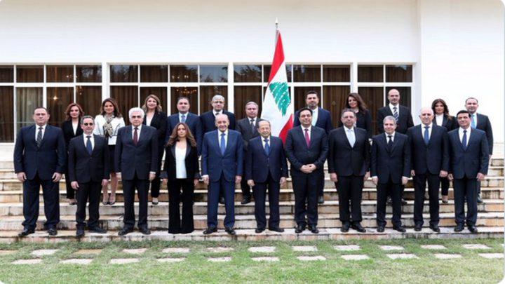 الحكومة اللبنانية تعقد اجتماعها الأول مع الرئيس عون