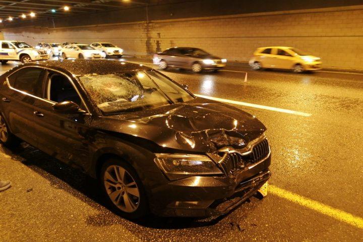 إصابة نتيجة حادث طرق في يافة الناصرة